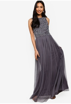 1f1542b80a 11% OFF Lace   Beads Hemingway Embellished Sleeveless Maxi Dress S  194.90  NOW S  173.90 Sizes S L XL