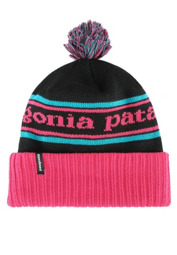 Patagonia pink and multi Powder Town Beanie PA549AC0RQF3MY_1