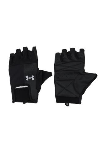 Under Armour black UA Men's Training Glove 8E0F5AC4FAF9E0GS_1