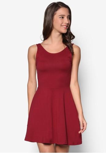 簡約無袖連身裙, esprit品牌介绍服飾, 燦色奪目