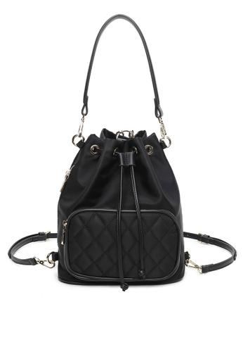 Milliot & Co. black Wendy Top Handle Bag BA9B4AC7CE99EAGS_1