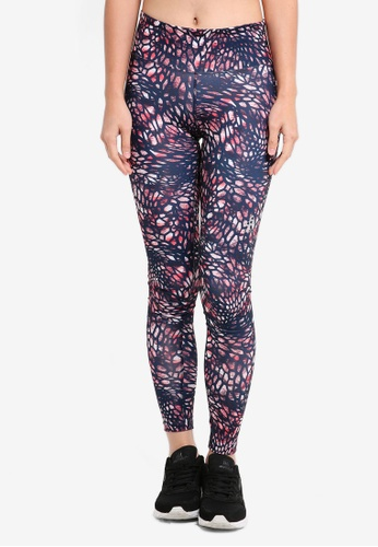 Odlo blue and navy Helle BL Long Tights 08A25AA7D0989DGS_1