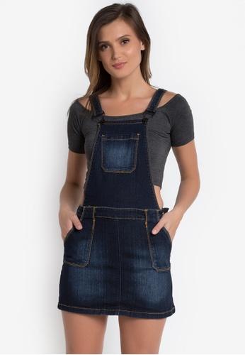 Crissa black Jumper Skirt CR520AA0K989PH_1