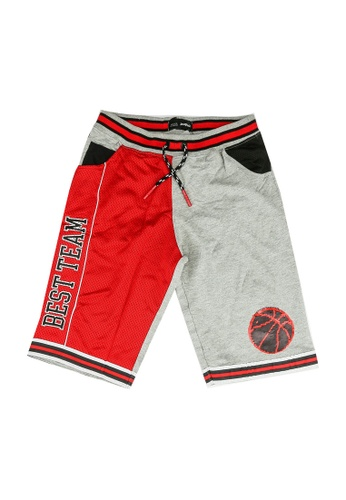 Desigual red Graphic 3/4 Pants 79817KA0E5D1C7GS_1