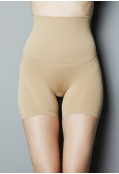 Shorts with Tummy Control with Silicone