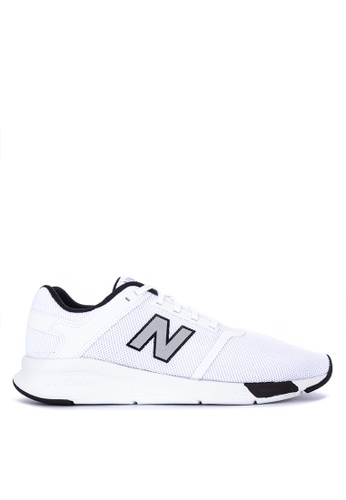 New Balance white Ms24 Classic Lifestyle Sneakers 6FC6ASHC589FA2GS_1