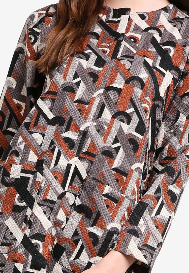 Najjah Clara Grey Jacket Najjah Clara P7fqOw