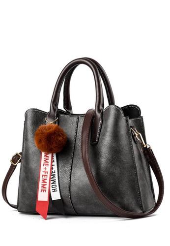 TCWK grey TCWK Korea Style Women Handbag - Grey C46C5AC9025097GS 1 068785be3b912
