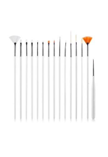 Buy Pretty2u Nail Art Brush Set Online Zalora Malaysia