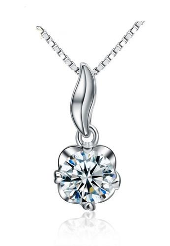 LYCKA silver LPP88110 S925 Silver Necklace 5EA2FAC199A586GS_1