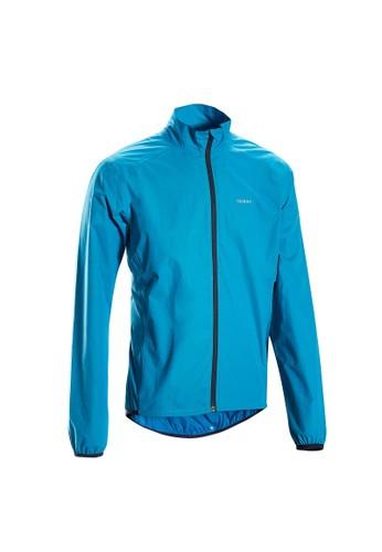 Decathlon Btwin Jaket Hujan Sepeda Rc 100 Biru - 8542919 5273AAAAA4F9B9GS_1