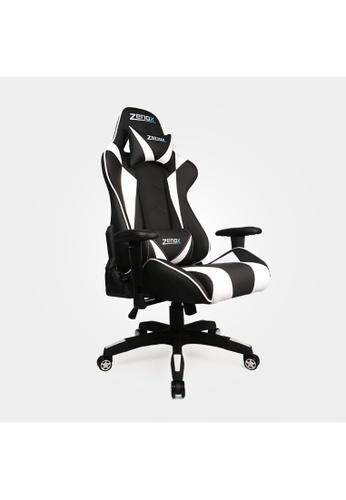 Zenox white Saturn Racing Chair (White) 0888BHL0F00BDCGS_1