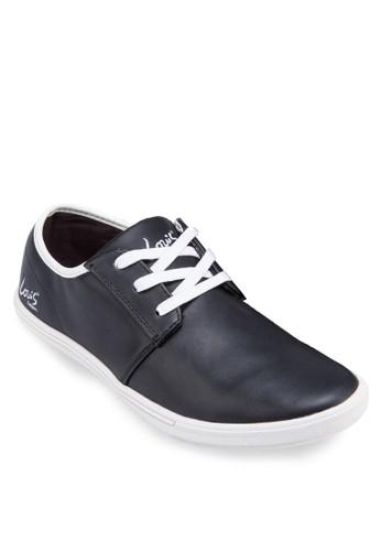 三眼繫帶仿zalora是哪裡的牌子皮休閒鞋, 鞋, 休閒鞋
