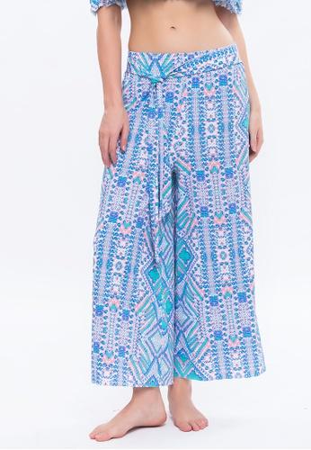 Sunseeker multi Mexican Oasis Beachwear Wide Leg Pants 2AF57USCE4978BGS_1