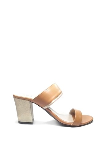 Beauty Shoes brown Beauty Shoes 1325 Heels Brown 15FCDSH629E25BGS_1
