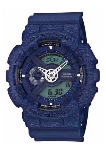 G-shock blue CASIO G-SHOCK Heathered Color Series GA-110HT-2A GS076AC47TZOMY_1