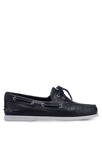 Sperry navy Authentic Original 2-Eye Pull Up Boat Shoes F5566SHCD24BD1GS_1