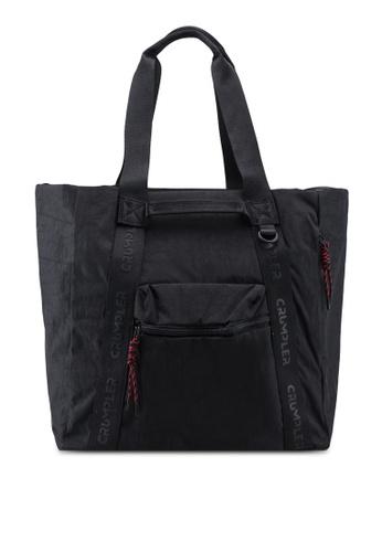 CRUMPLER black Exchange Tote Bag 01A83AC51E6872GS_1