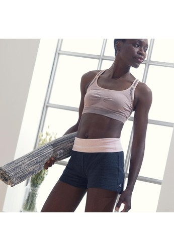 Decathlon Organic Cotton Gentle Yoga Shorts/Pink - 8549964 01D15AA4688AEBGS_1
