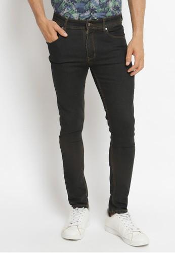 VENGOZ black Skinny Jeans Black Wash 9297BAA3ADF748GS_1