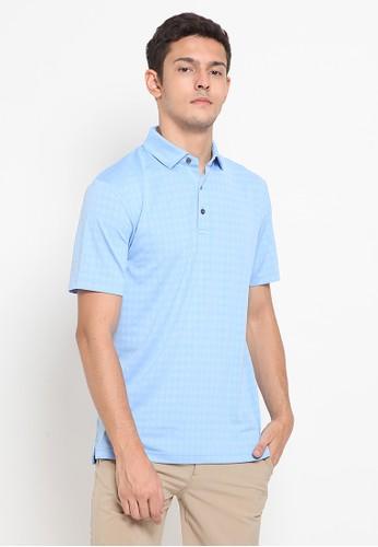 Jack Nicklaus blue Burnaby Premium Polo Shirt 274AFAA6C8F161GS_1