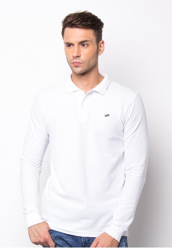 Gyffrous Polo Shirt Plain White