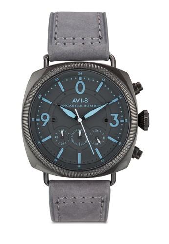 Lancaster Bomber 真皮手錶, 錶zalora 鞋評價類, 飾品配件