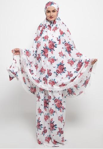 Aira Muslim Butik white Syameel Travelling Prayer 8FA23AAFB889ECGS_1