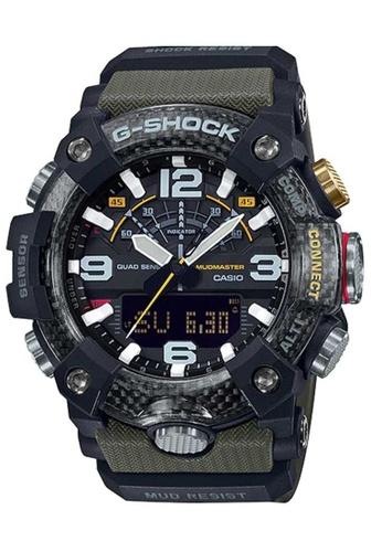 Casio beige Casio G-Shock Mudmaster GG-B100-1A3DR Beige and Black Resin Watch 382A8AC680D038GS_1