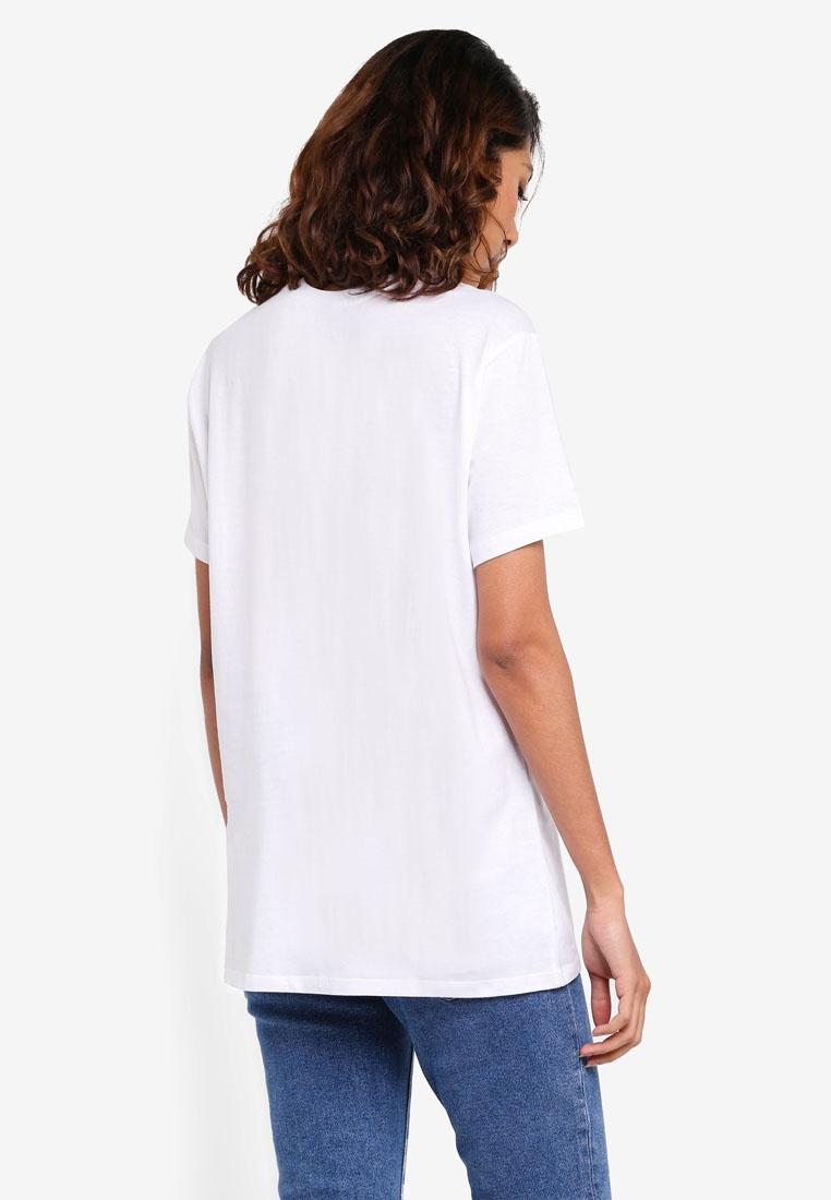 Graphic White Aloha Cotton Hawaii Fox T TBar On Shirt RBBzF6nt