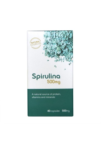 Pure & Well Fito Spirulina 500mg, 40 capsules 041DFES96341F8GS_1