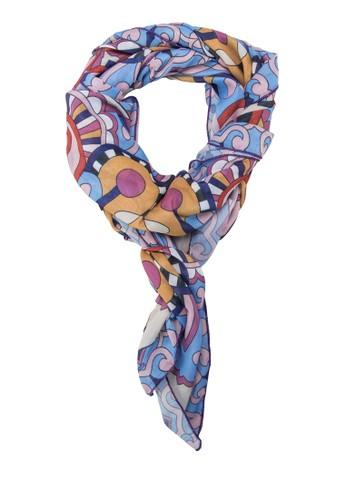 印花絲巾, 飾esprit服飾品配件, 披肩