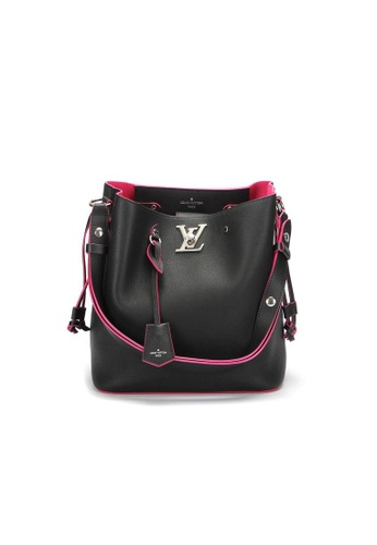 Louis Vuitton black Pre-Loved louis vuitton Louis Vuitton Rock Me Bucket in Black 9F05CAC4D69809GS_1
