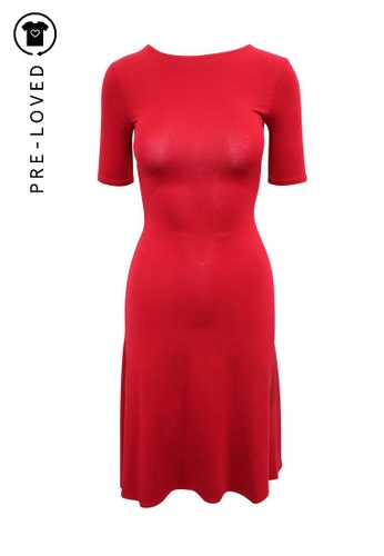 Reformation red Pre-Loved reformation Red Elegant Flare Dress C4D10AA6AAFBFAGS_1