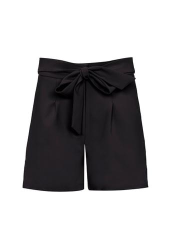 Auden Cavill black Auden Cavill Women Tie Waist Shorts 66D3DAA332E6A3GS_1