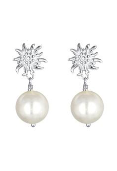 4d0a08ad9 Elli Germany silver Oktoberfest Edelweiss 925 Sterling Silver Earrings  ECEA8AC54BCF46GS_1