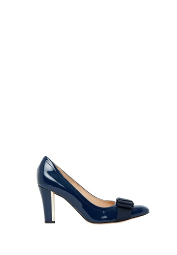 Nina Armando navy Ivy II Patent Leather High Heel NI342SH0FV3VSG_1