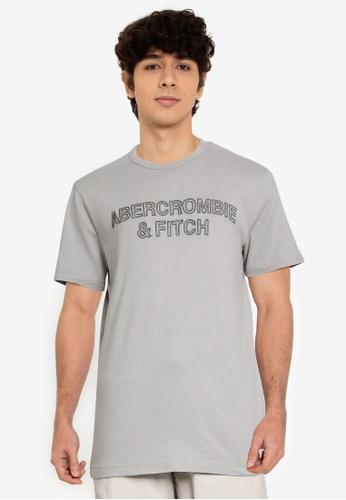 Abercrombie & Fitch grey Core Tech T-Shirt C522DAA7623916GS_1