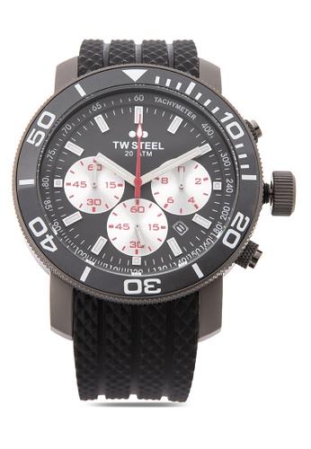 TW Steel black TW705 Grandeur Diver Analog Watch TW310AC0KMCKPH_1