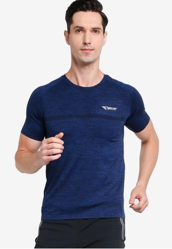 361° blue Running Series Short Sleeve T-shirt 25BC4AAF4B7255GS_1