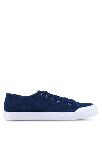 DC Shoes navy Evan Lo Zero Shoes 1BBC8SH9EFD2D3GS_1