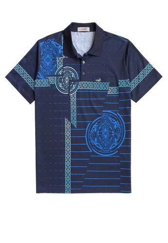 Crocodile blue Crocodile DIAMOND 1686 Blue - Baju Kaos Kerah Pria Men Polo Original Relax fit - Bahan Katun 01B27AAE2C66BEGS_1