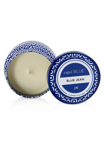 Capri Blue CAPRI BLUE - Printed Travel Tin Candle - Blue Jean 241g/8.5oz 37C75HLEFBA455GS_1