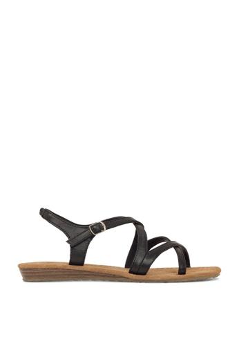 ROC Boots Australia black Capture Black Sandal RO289SH52BPRSG_1