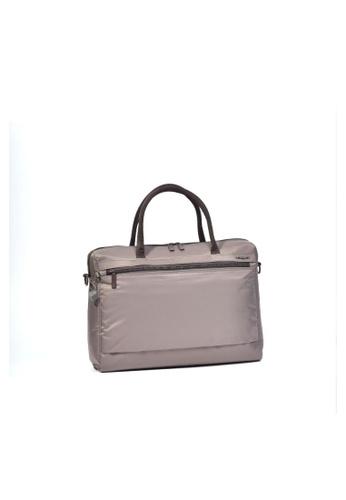 Hedgren brown Hedgren Women Olga Business Bag 14IN RFID Sepia/Brown - 11.4L FAF3CACAF3845CGS_1