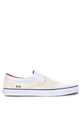 VANS beige Outside In Classic Slip-On Sneakers 99972SH08EE273GS_1