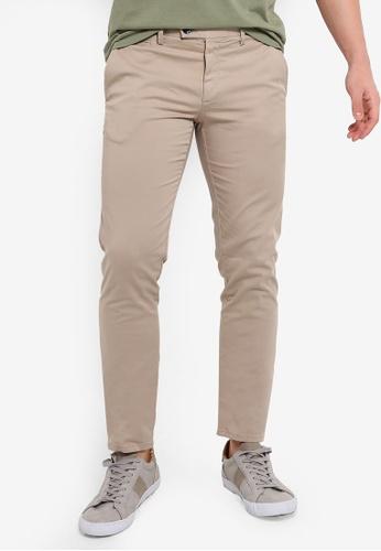 e1fb653c90aaca Buy MANGO Man Super Slim-Fit Chino Trousers Online on ZALORA Singapore