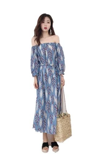 Seoul in Love blue Johanna Dress F92EFAAC80E036GS_1