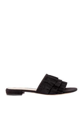 Nine West black NWIVARENE Slide Sandals NI432SH56MEPSG_1