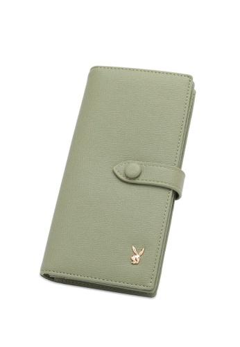 PLAYBOY BUNNY green Women's Bi Fold Purse / Bi Fold Wallet AC0DDAC0DE1DB6GS_1